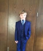 Boys three piece communion suit