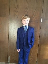Boys three piece communion suit