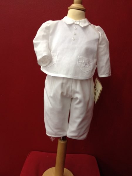 Laura D design Boys Christening outfit