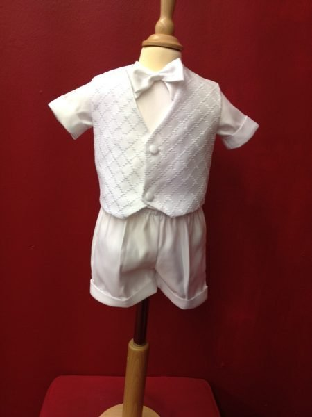 Boys Christening 3 piece outfit