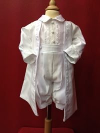 Joey Couture boy's two piece Christening