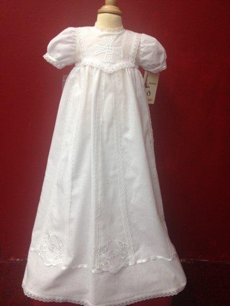Celtic design Christening Gown