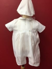 Boys Christening Romper