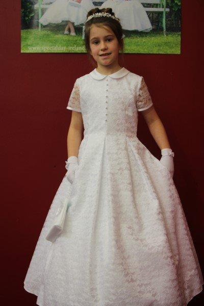 Girls Communion Dress Laura D 540
