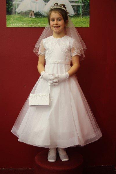 Girls Communion Dress Style 19336