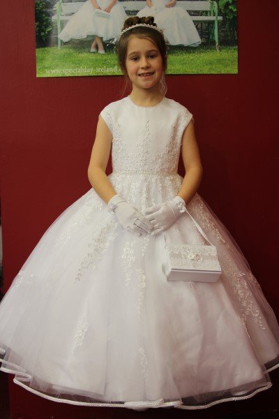Girls Communion Dress Style Haiti