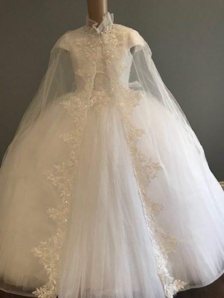 Polka Communion Dress Style 928
