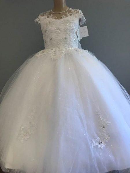 Polka Communion dress