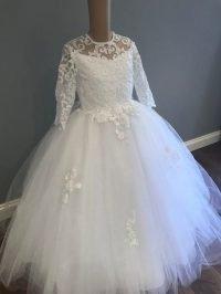 Polka Style Communion Dress