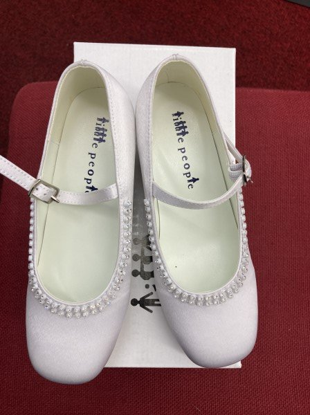 white first holy communion shoes Style 4