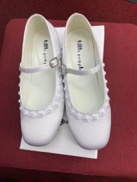 white first holy communion shoes Syle 5